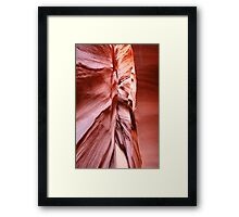 Converging Lines Abstract Framed Print