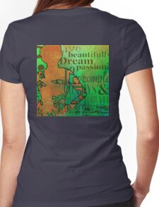 Living Beautifully Womens Fitted T-Shirt