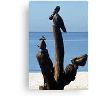 Biloxi Mississippi - Katrina Sculptures Canvas Print