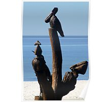 Biloxi Mississippi - Katrina Sculptures Poster