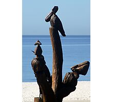 Biloxi Mississippi - Katrina Sculptures Photographic Print
