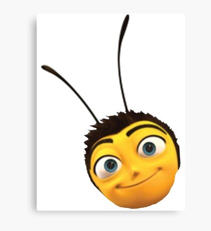 Barry B. Benson from the Bee Movie Canvas Print