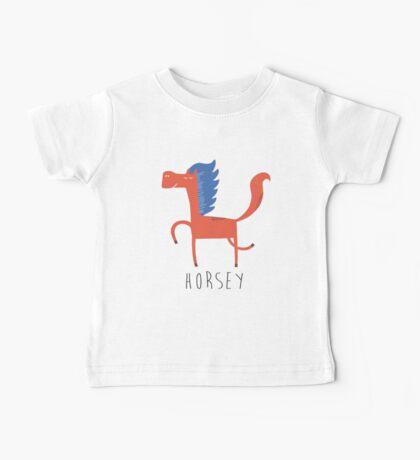 Horsey Baby Tee