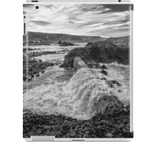 Ballintoy Harbour - The Sea Always Wins iPad Case/Skin