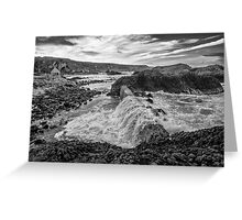 Ballintoy Harbour - The Sea Always Wins Greeting Card