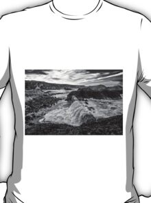 Ballintoy Harbour - The Sea Always Wins T-Shirt