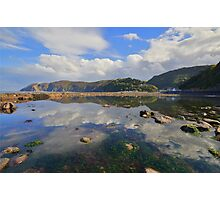 Exmoor: Lynmouth Reflections Photographic Print