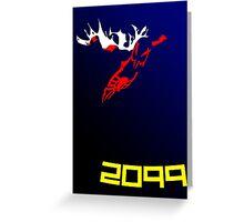 Spoder-Man 2099 Greeting Card