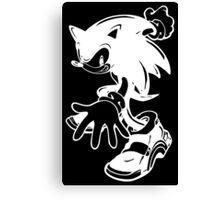 Sonic the Hedgehog [White] Canvas Print
