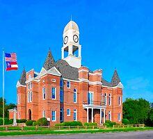 Macon County Courthouse - Oglethorpe Georgia by Mark Tisdale