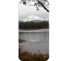 Manzanita Lake in the Winter iPhone Case/Skin