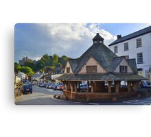 Exmoor: Dunster Yarn Market Canvas Print