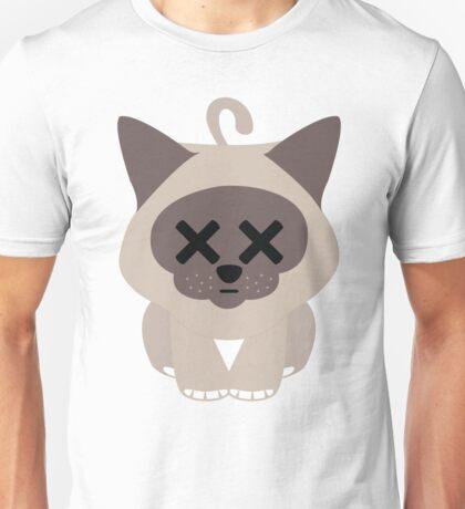 Birman Cat Emoji Faint and Knock Out Look Unisex T-Shirt