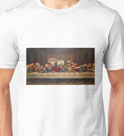 Send Nudes - Last supper Unisex T-Shirt