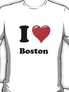 I Love Boston T-Shirt