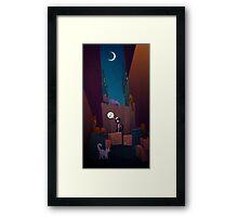 Cat Cabaret Framed Print