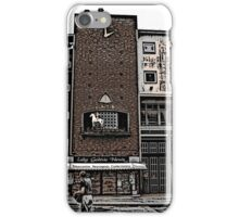 Broadgate, Coventry, Woodcut iPhone Case/Skin