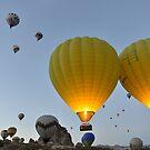 Takeoff - Cappadocia, Turkey by Kasia Nowak
