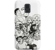 Many Faces Samsung Galaxy Case/Skin