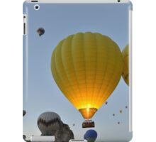 Takeoff - Cappadocia, Turkey iPad Case/Skin