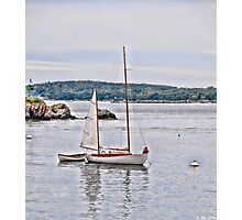 Peaceful Mooring Photographic Print