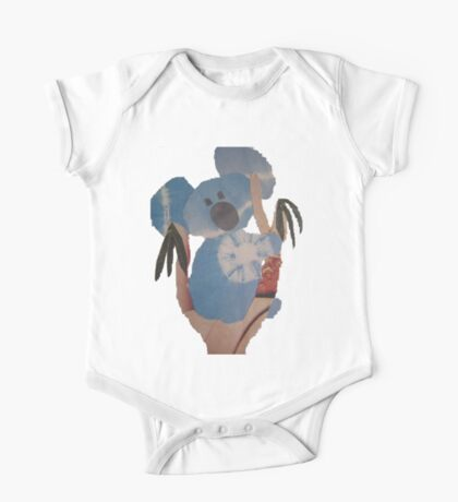 Koala Blue One Piece - Short Sleeve