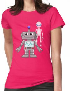 He's cool  Womens Fitted T-Shirt