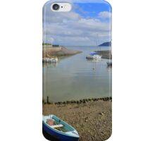 Exmoor: Low Tide at Porlock Weir iPhone Case/Skin