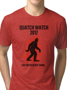 WATCH FOR THE QUATCH 2K17 Tri-blend T-Shirt