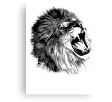 Lion illustration Canvas Print
