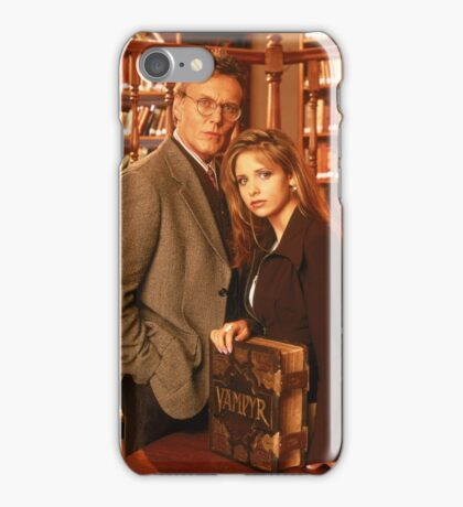 Buffy and Giles iPhone Case/Skin