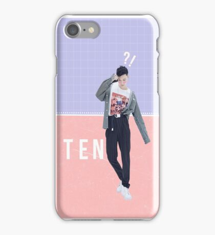 Ten - NCT U iPhone Case/Skin
