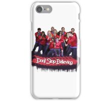 Don't Stop Believing || Glee iPhone Case/Skin