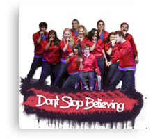 Don't Stop Believing || Glee Canvas Print