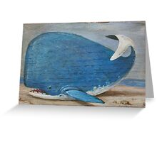 """Beached but not Battered"" Greeting Card"