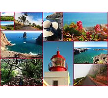 Collage from Portugal (Madeira) 2 - Travel Photography Photographic Print