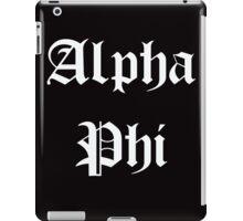 Alpha Phi iPad Case/Skin
