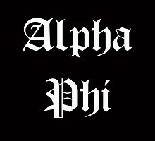 Alpha Phi by slefebvre