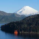 Ashinoko - Hakone, Japan by Kasia Nowak
