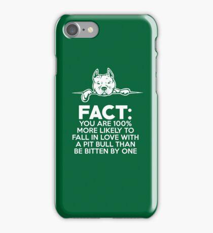 Pit Bull Fact Love  iPhone Case/Skin