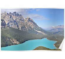 Peyto Lake - Alberta, Canada Poster