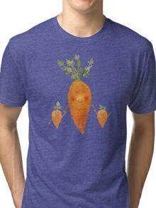 Сarrot family Tri-blend T-Shirt