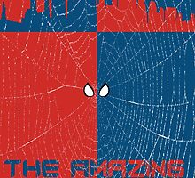 The Amazing Spider-Man Minimalist Poster by TJ Ruesch