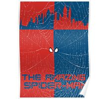 The Amazing Spider-Man Minimalist Poster Poster