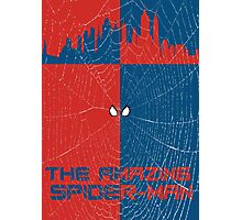 The Amazing Spider-Man Minimalist Poster Photographic Print