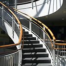 Stairway Shadows by Monnie Ryan