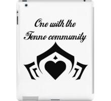 Love your fellow Tenno iPad Case/Skin