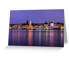 Christmas Tree - Stockholm, Sweden Greeting Card