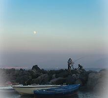 moon rising     (1a) by Rachel Veser