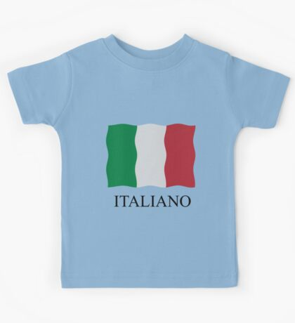 Italiano flag Kids Tee